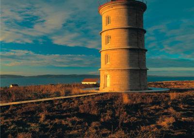 Ile Rouge Lighthouse - La Martre Lighthouse - wystawa w Latarni Morskiej Gdańsk Nowy Port