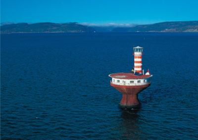 Prince Shoal Lighthouse - La Martre Lighthouse - wystawa w Latarni Morskiej Gdańsk Nowy Port