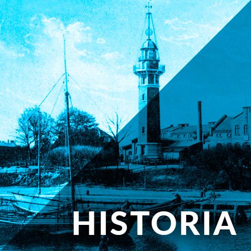 historia latarnia morska Gdańsk Nowy Port