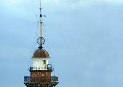 kula czasu latarnia morska gdańsk nowy port