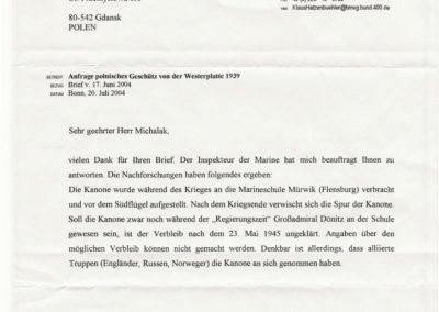 Marineschule list, 2004