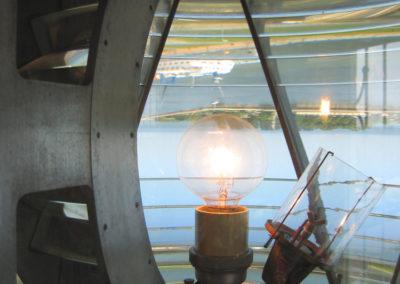 lampa  na latarni morskiej