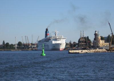 Latarnia Morska Gdańsk Nowy Port i port-widok od zatoki, 2006