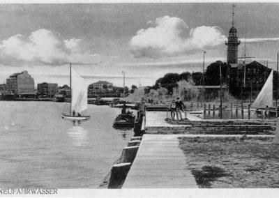 Latarnia Morska Gdańsk Nowy Port, lata 1920-te