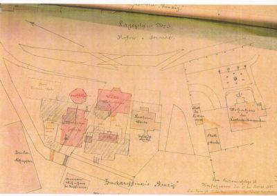 Lageplan, 1892r.