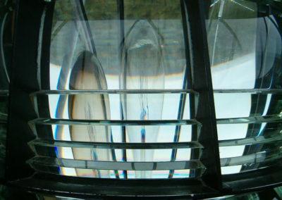 Soczewka Fresnela na latarni morskiej