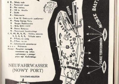 Wańkowicz, Westerplatte 1959, Mapa Sucharskiego