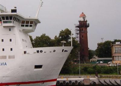remont Latarni Morskiej Gdańsk Nowy Port, 2003