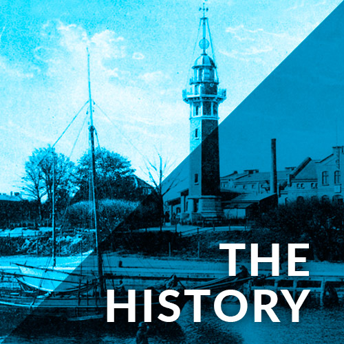 the history of lighthouse Gdańsk Nowy Port